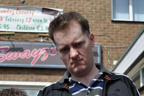 Jason Cook as Ramsey in Hebburn