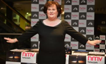 Susan Boyle begins filming on first movie The Christmas Candle