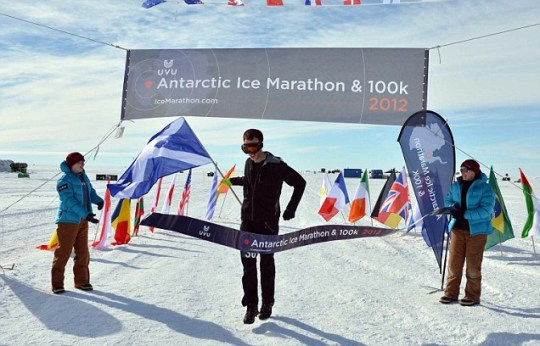 Andrew Murray. Scotland, Marathon, Antartica