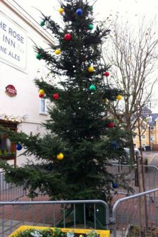 Herne Bay, Christmas tree, Kent