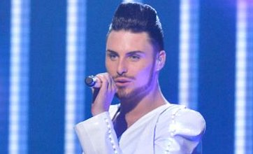 X Factor's Rylan Clark: Gary Barlow can't keep his eyes off me backstage