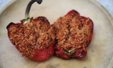 Cook this tonight… Spicy roasted pepper and cous cous