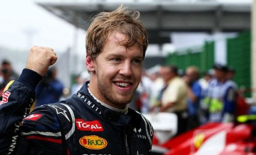 Sebastian Vettel introduces fans to 'Hungry Heidi'