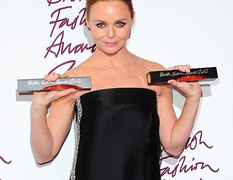 Stella McCartney caps golden year with deserved British Fashion Council awards