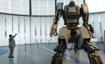 Giant $1m robot exhibited in Japan as thousands of orders roll in