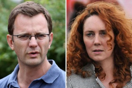 Andy Coulson, Rebekah Brooks