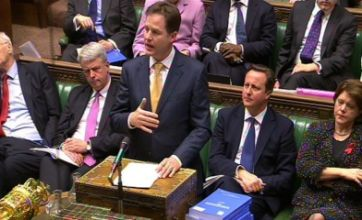 Coalition on collision course over Leveson report