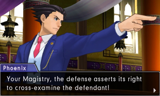 Phoenix Wright: Ace Attorney - Spirit Of Justice (3DS) - no objections