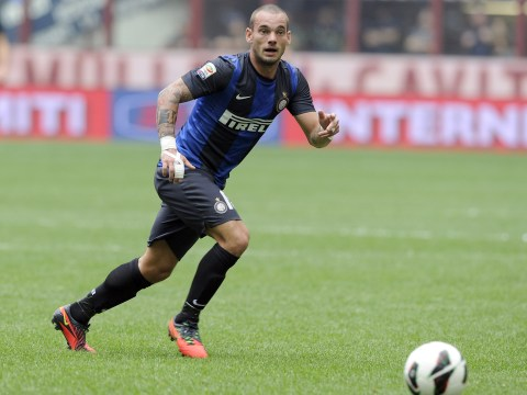 Liverpool make first move in race for Wesley Sneijder's signature