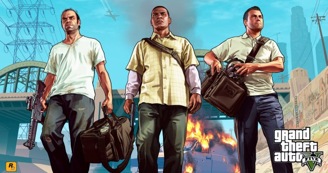 Grand Theft Auto V - game of the year