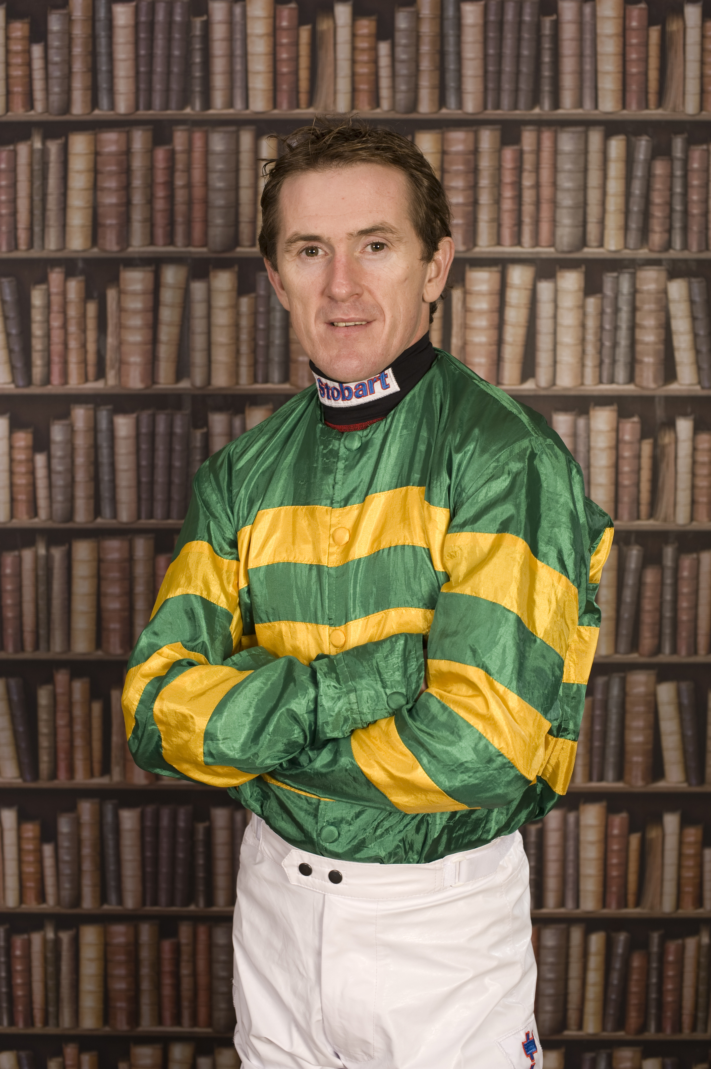 Tony McCoy: I don't know if my family and friends worry about me