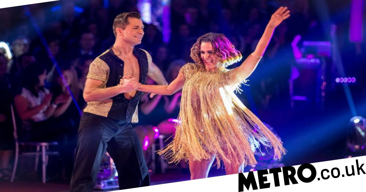 When was Caroline Flack on Strictly Come Dancing and did she win?