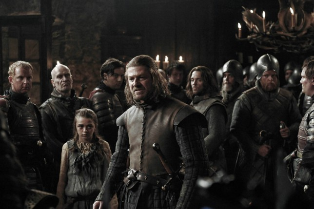 Sean Bean (above) takes charge in Game Of Thrones;