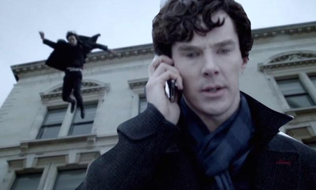 Martin Freeman said the new series is 'brilliant' (Picture: BBC)
