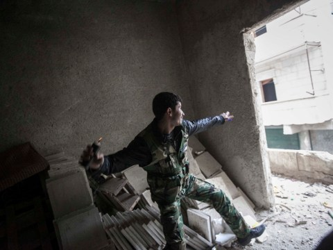 Syrian conflict continues – 8 December 2012