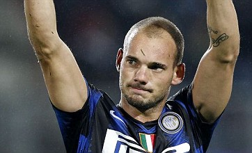 Tottenham 'enter race to sign Inter Milan rebel Wesley Sneijder'