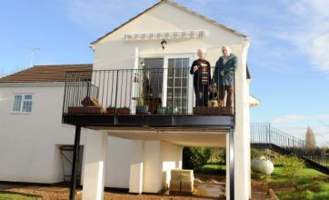 Bungalow on stilts: A £100,000 refit kept us high and dry in the floods