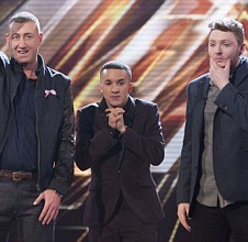 The X Factor 2012: James, Jahmene and Christopher through to the final