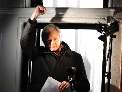 Julian Assange tells the world: I'm here to talk