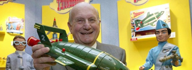 Gerry Anderson died peacefully in his sleep (Picture: PA)