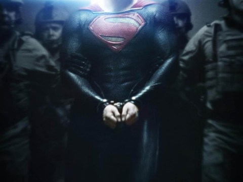 New Man of Steel poster shows Henry Cavill's Superman in chains
