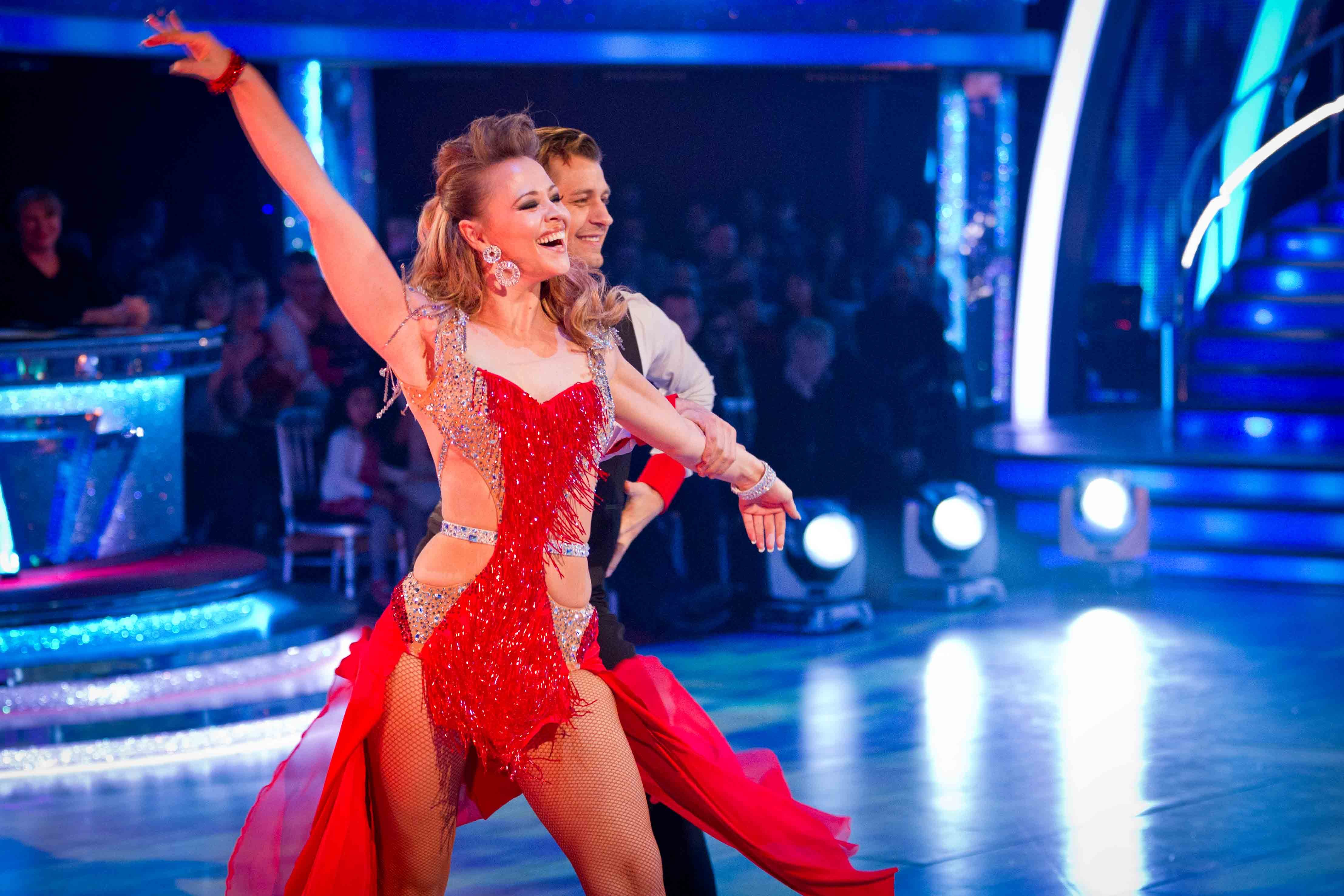 Kimberley Walsh rules Strictly Come Dancing with first full house of the series