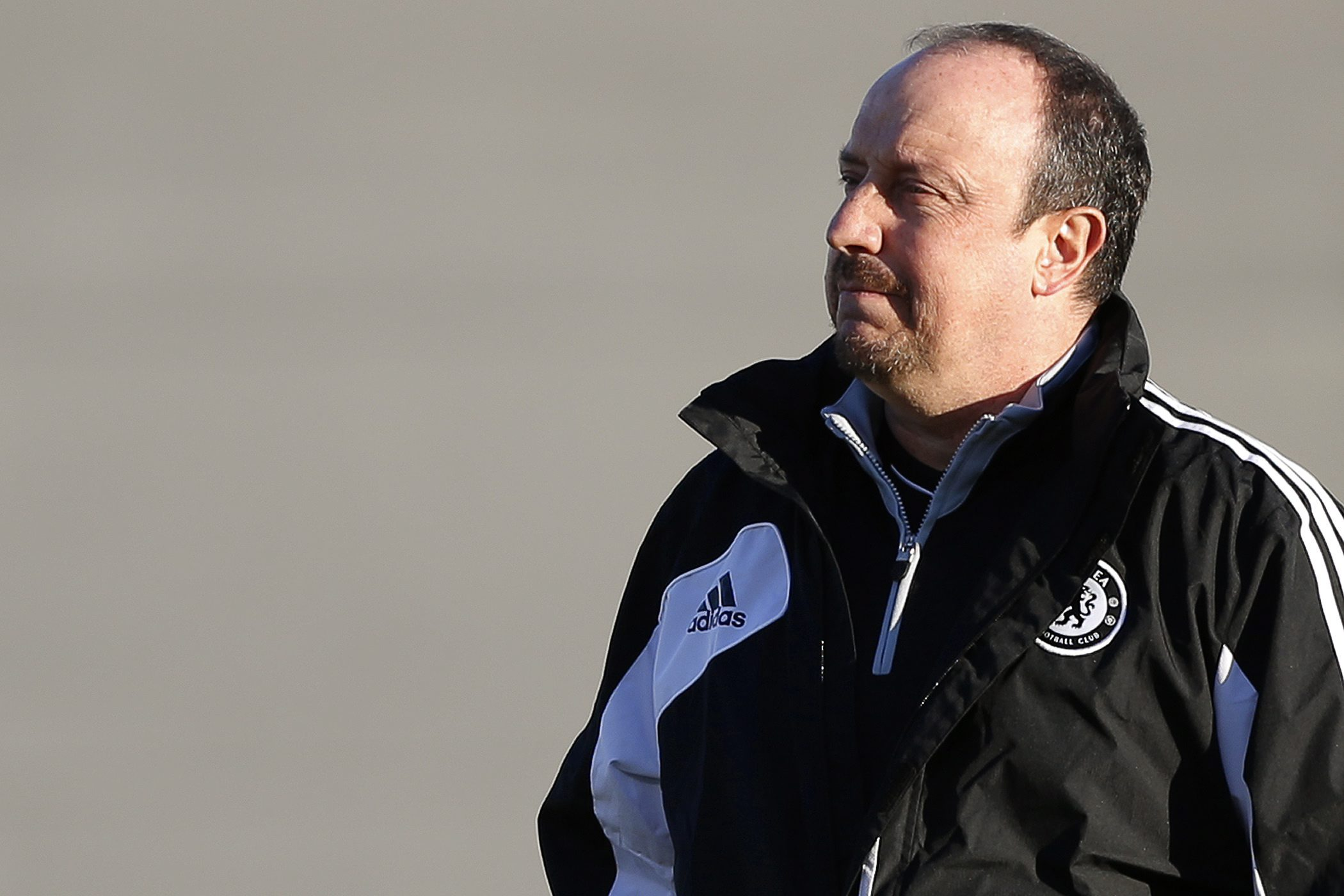 Rafael Benitez has seen Chelsea win their last two matches (Picture: EPA)