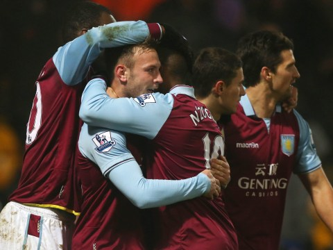 Aston Villa put four past Norwich to progress to Capital One Cup semi-finals