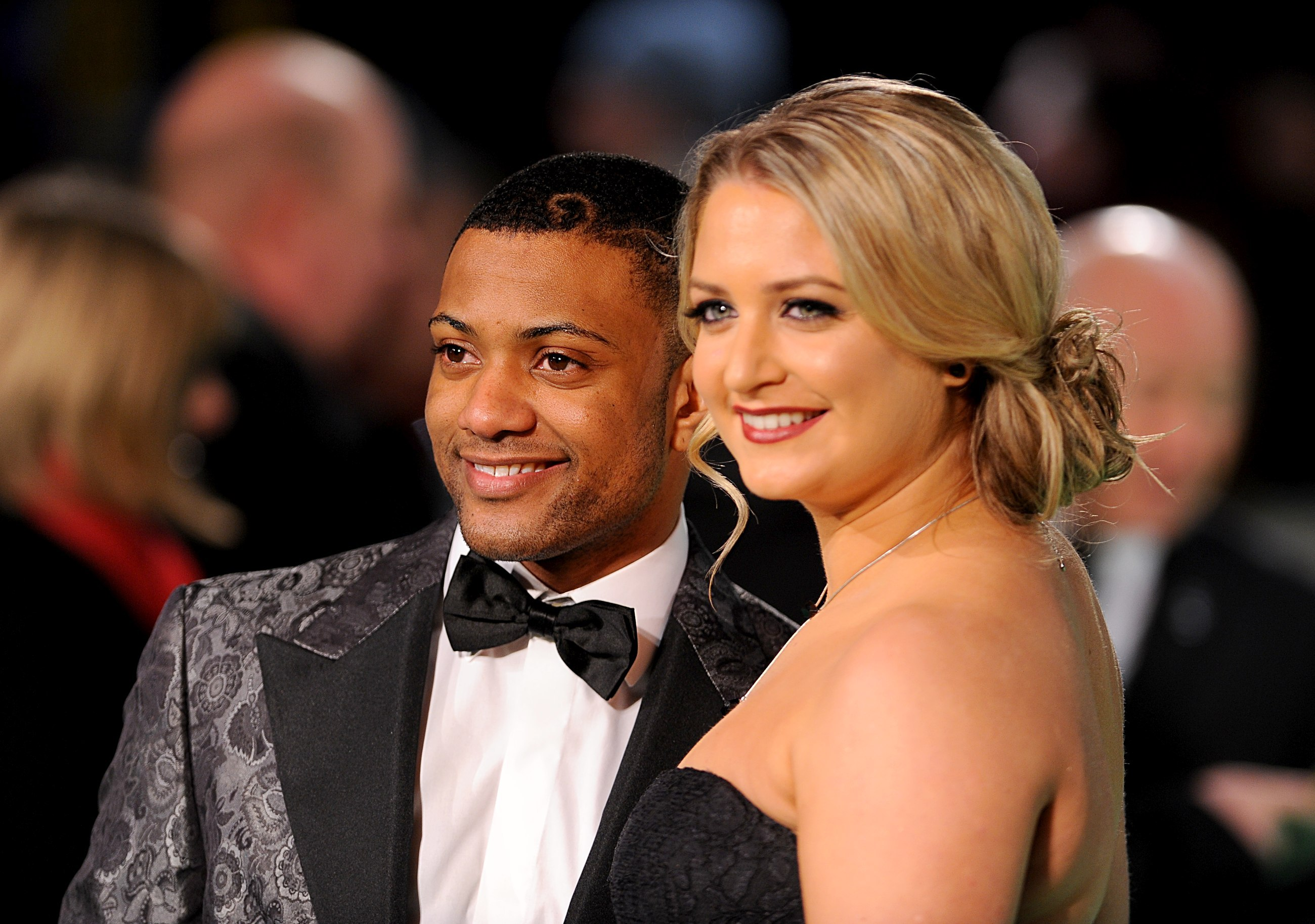 JB Gill from JLS and his girlfriend Chloe Tangney are engaged (Picture: PA)