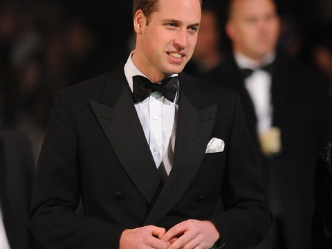 Prince William flies solo at The Hobbit: An Unexpected Journey premiere