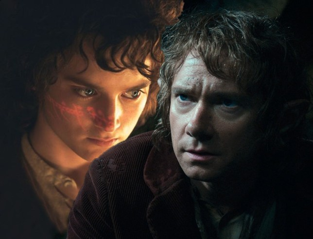 Frodo and Bilbo Baggins, The Hobbit, Lord of the Rings