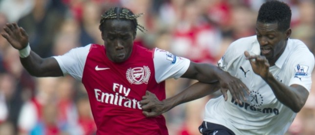 Wanted: Bacary Sagna (left) could be PSG bound (Picture: Getty)