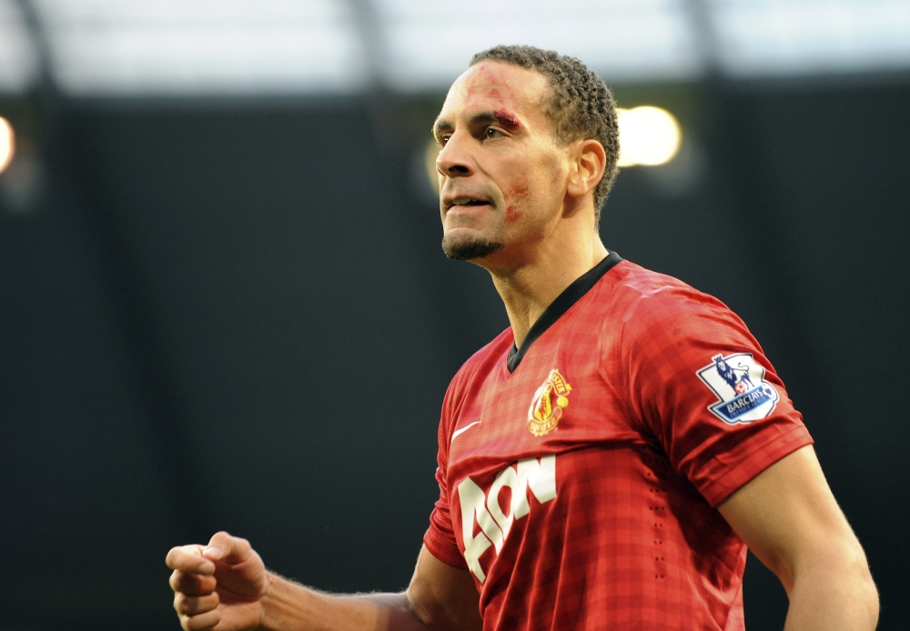 Shaken, not stirred: Rio Ferdinand has set his sights on a career in Hollywood (Picture: AP)