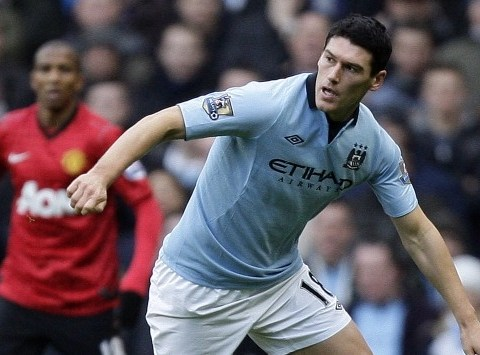 Gareth Barry hit with FA charge over verbal abuse in Manchester derby