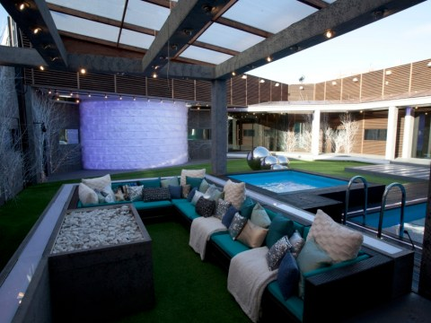 New Celebrity Big Brother house boasts chilly 'ski-lodge' theme