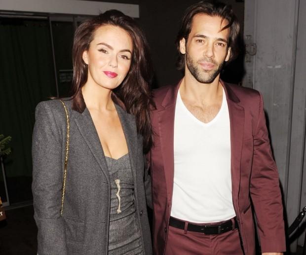 Jennifer Metcalfe and Sylvain Longchambon