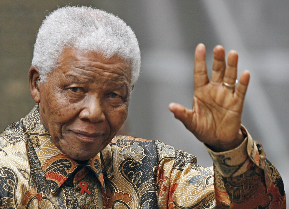 Former South African president Nelson Mandela discharged from hospital