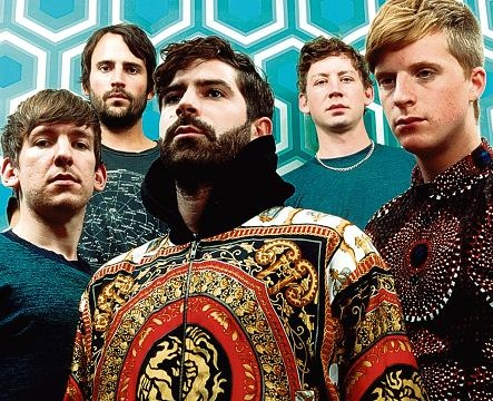Foals lead singer Yannis Philippakis: Getting on his highbrow horse