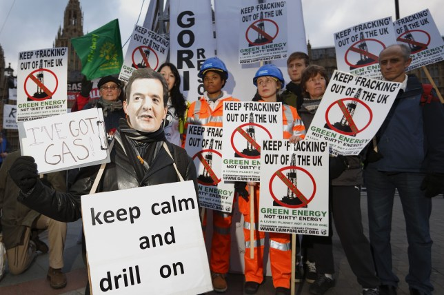 Environmental campaigners have criticised the government's decision to lift the fracking ban