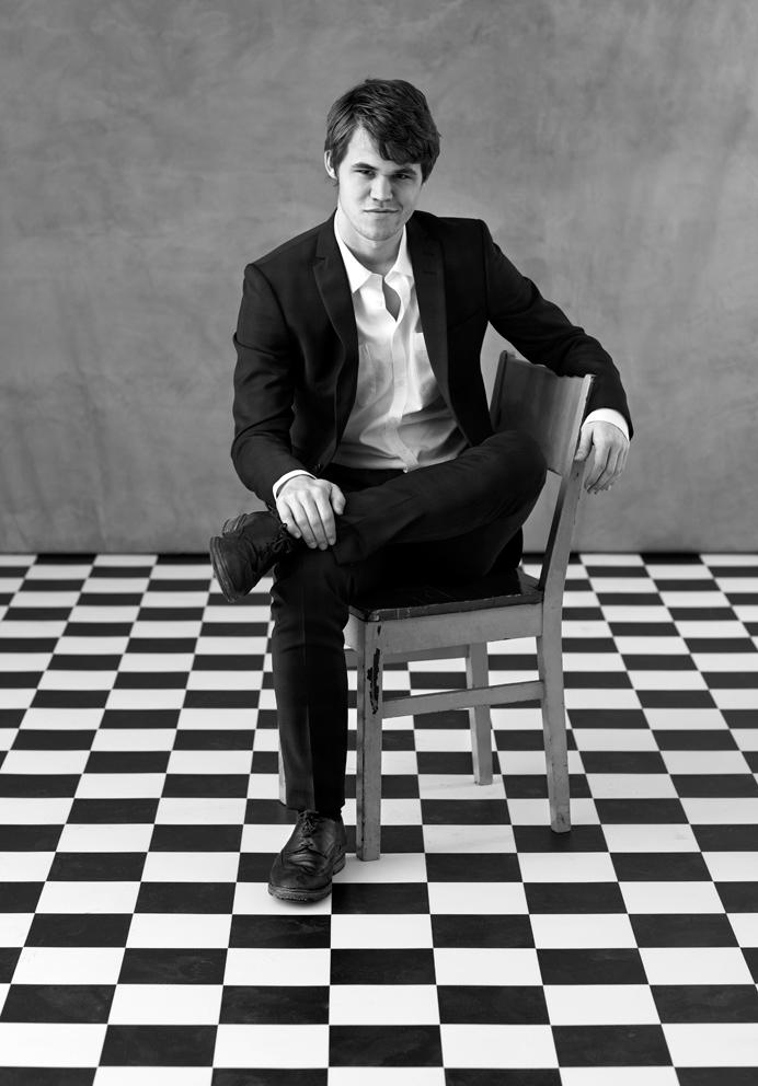Meet the 'David Beckham of chess' Magnus Carlsen