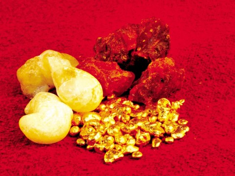 Christmas gifts… What do we do with gold, frankincense and myrrh?