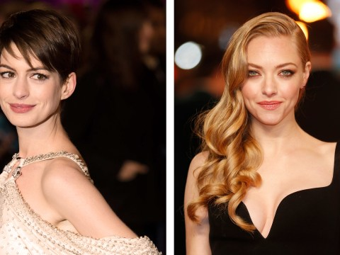Anne Hathaway and Amanda Seyfried light up the red carpet at Les Miserables premiere