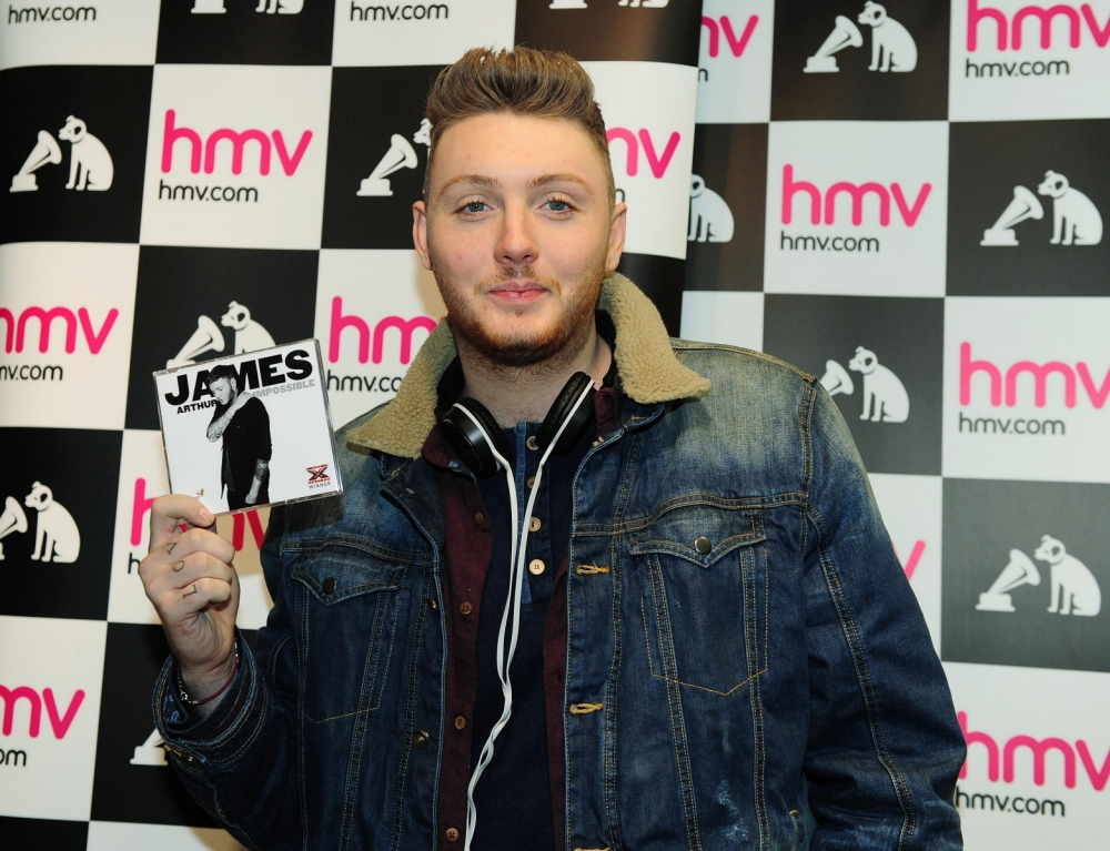 James Arthur's Impossible tipped to return to number one