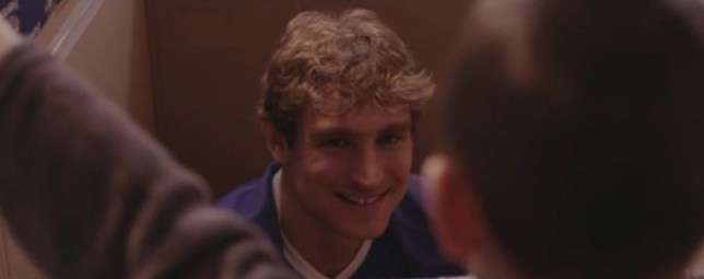 Nikica Jelavic has clearly been spending more time in the tv studio than on the training pitch (Picture: YouTube)