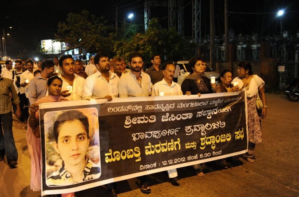 Body of royal hoax nurse Jacintha Saldanha flown to India