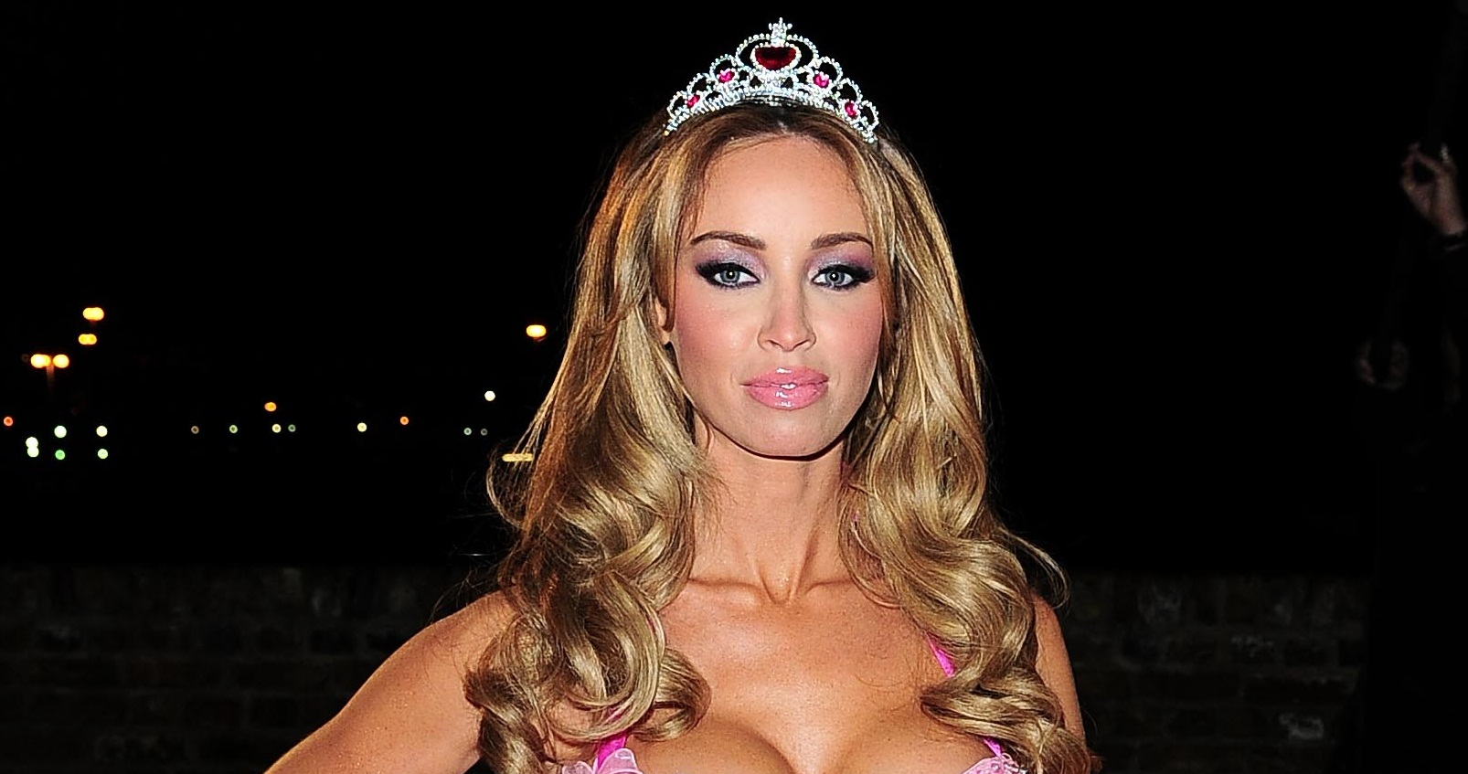 The Only Way Is Essex's Lauren Pope in a princess dress: Dare to wear