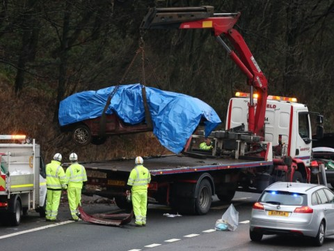 Police reconstructing 'mystery' Christmas Day crash on M6 that killed young brothers