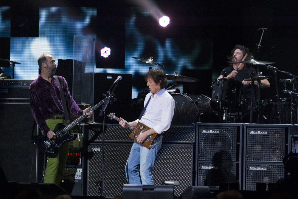 Paul McCartney and Nirvana's Cut Me Some Slack tops bill at Hurricane Sandy benefit gig