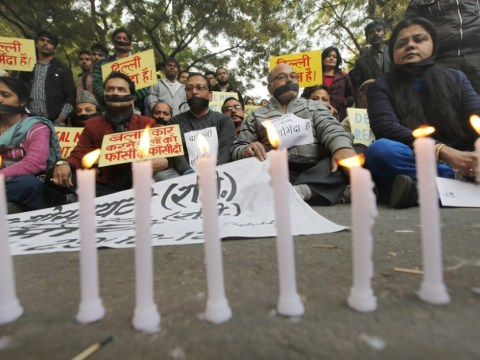Gallery: Protests as Delhi gang-rape victim dies