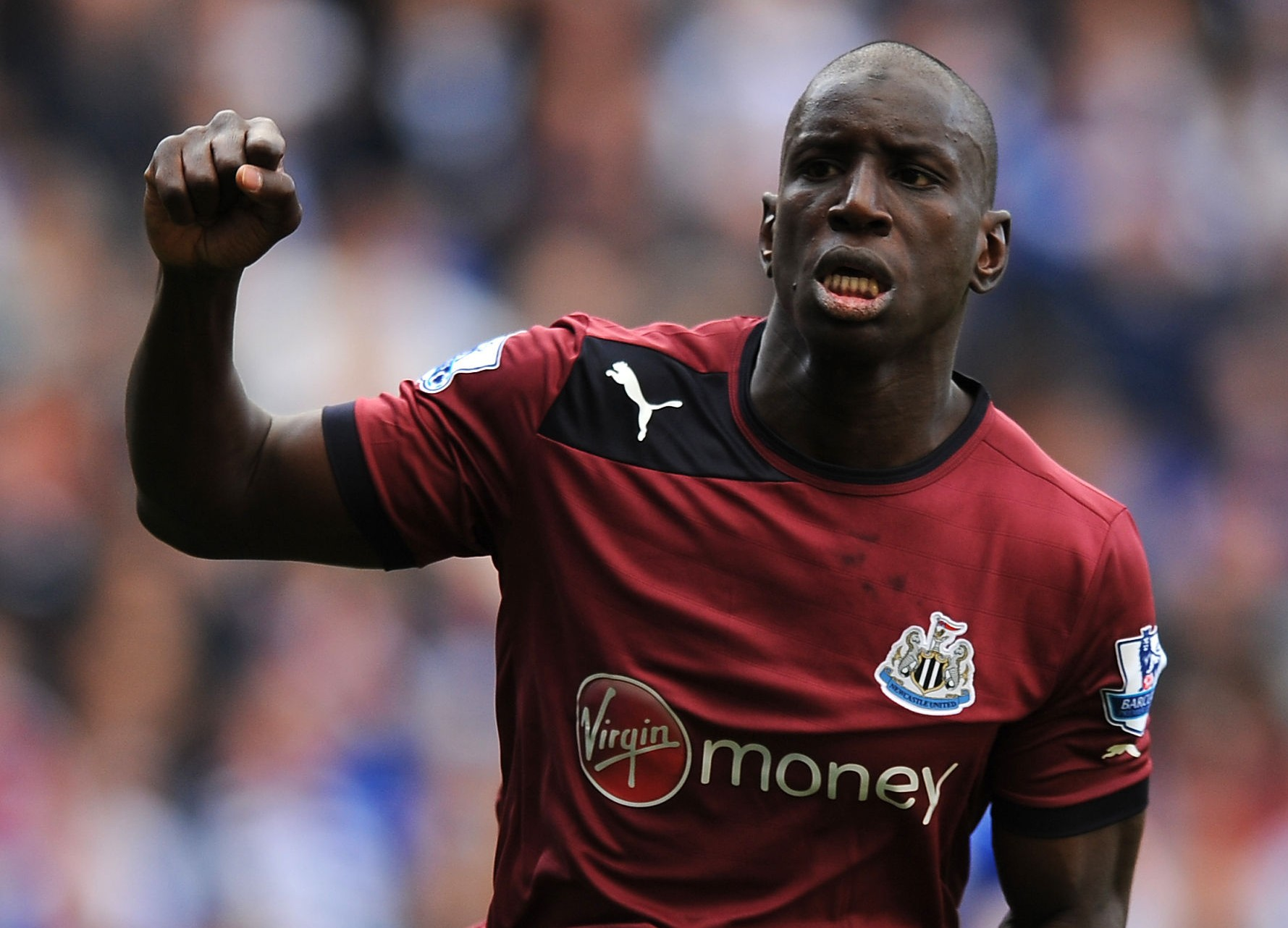 Demba Ba's £7.5million release clause will be activated when the transfer window opens tomorrow (Picture: PA)